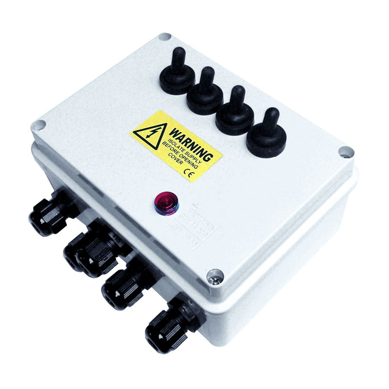 Pisces Multi-Switch Outdoor Pond Electrical Switch Boxes