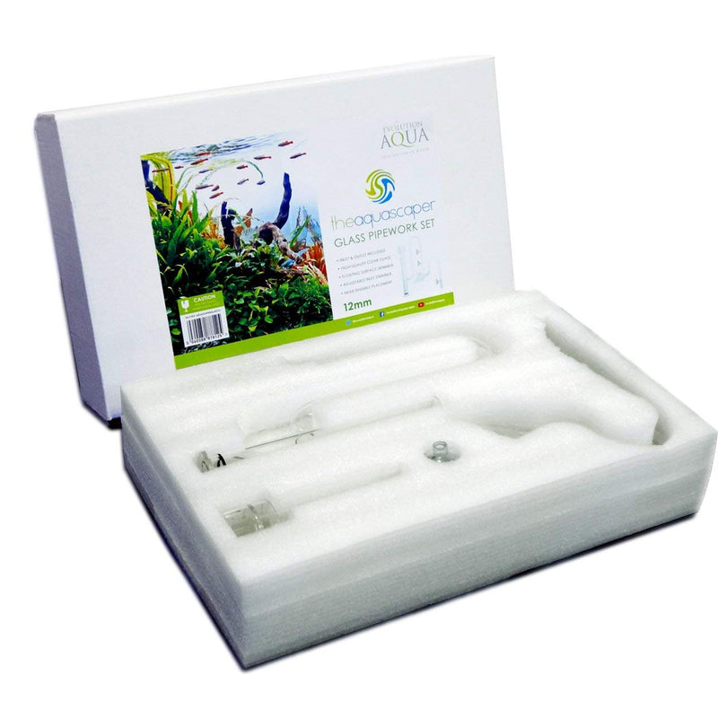 Evolution Aqua Aquascaper Inlet and Outlet Glass Pipework Set