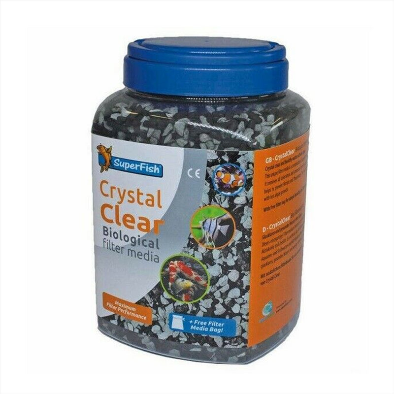 SuperFish Crystal Clear Aquarium and Pond Filter Media