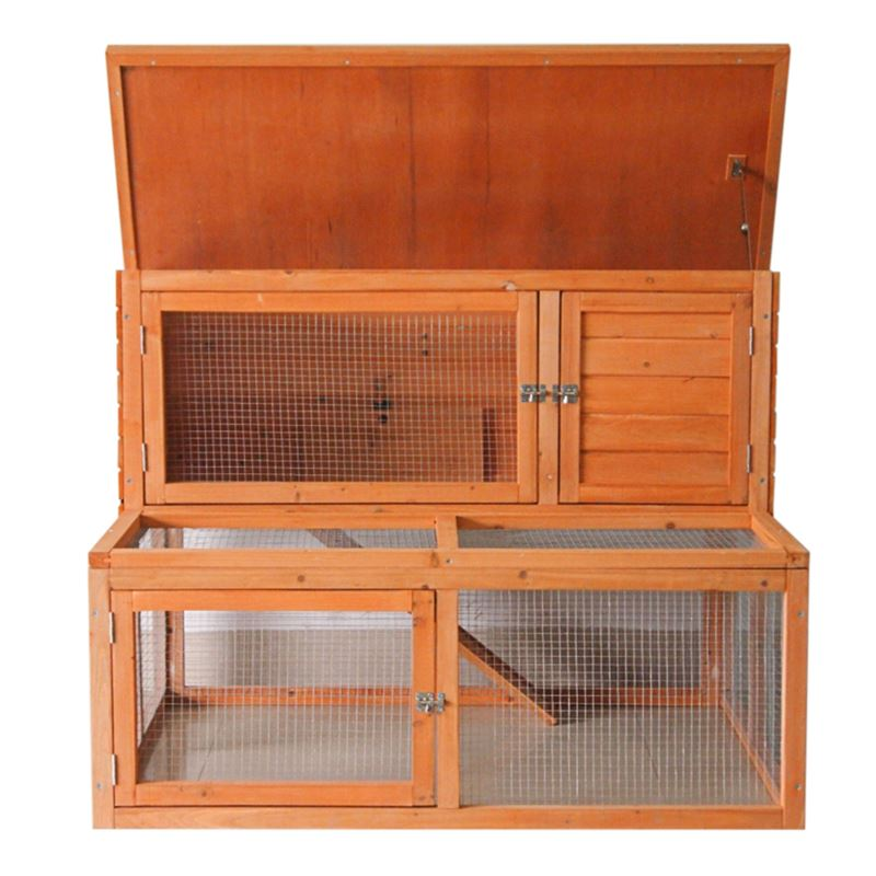 KCT Ancona 4ft Hutch and Run Including Cover