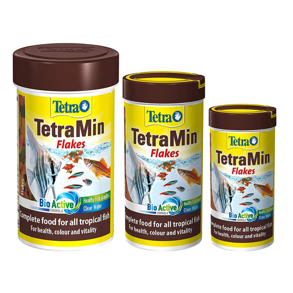 TetraMin Tropical Aquarium Fish Flakes