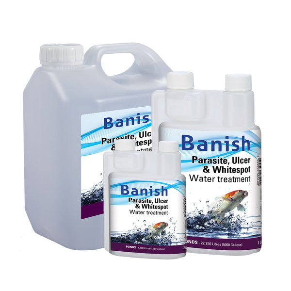 Banish Anti Ulcer, Parasite and Whitespot Water Treatment