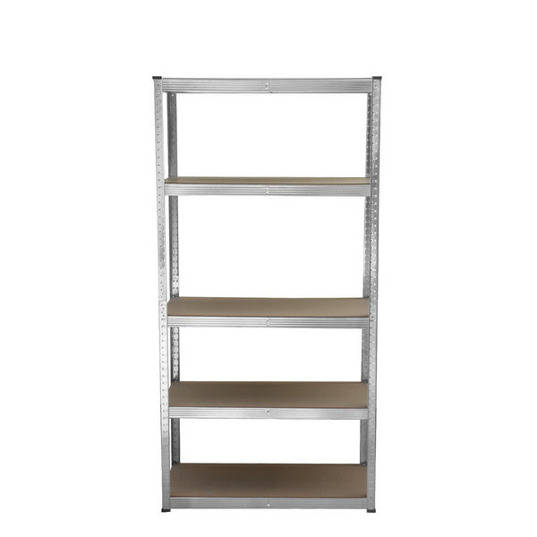 5 Tier Galvanised Metal Shelving Unit