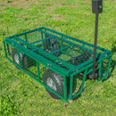 KCT Heavy Duty Garden Trailer with Lining
