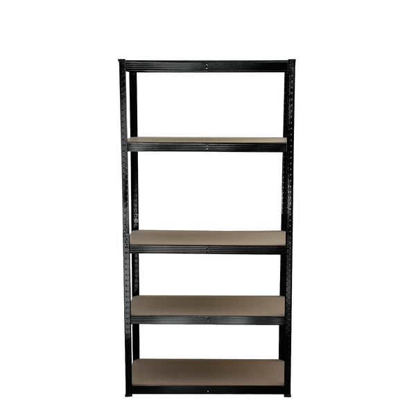5 Tier Black Shelving Unit