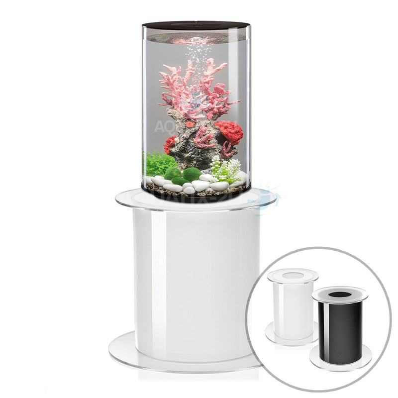 biOrb Tube 30L Black Aquarium with MCR LED Lighting