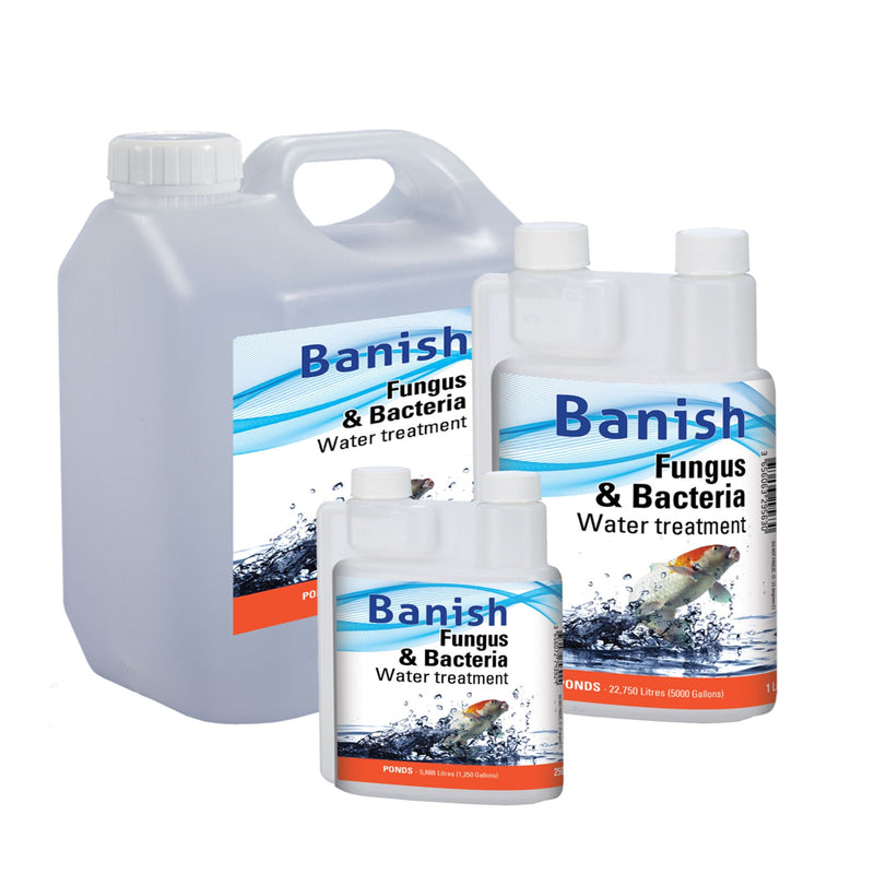 Banish Fungus And Bacteria Water Treatment