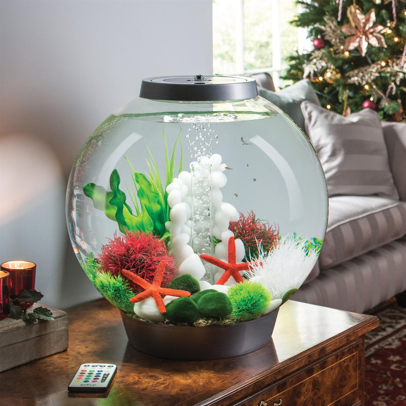 biOrb Classic 30L Silver Aquarium with MCR LED Lighting