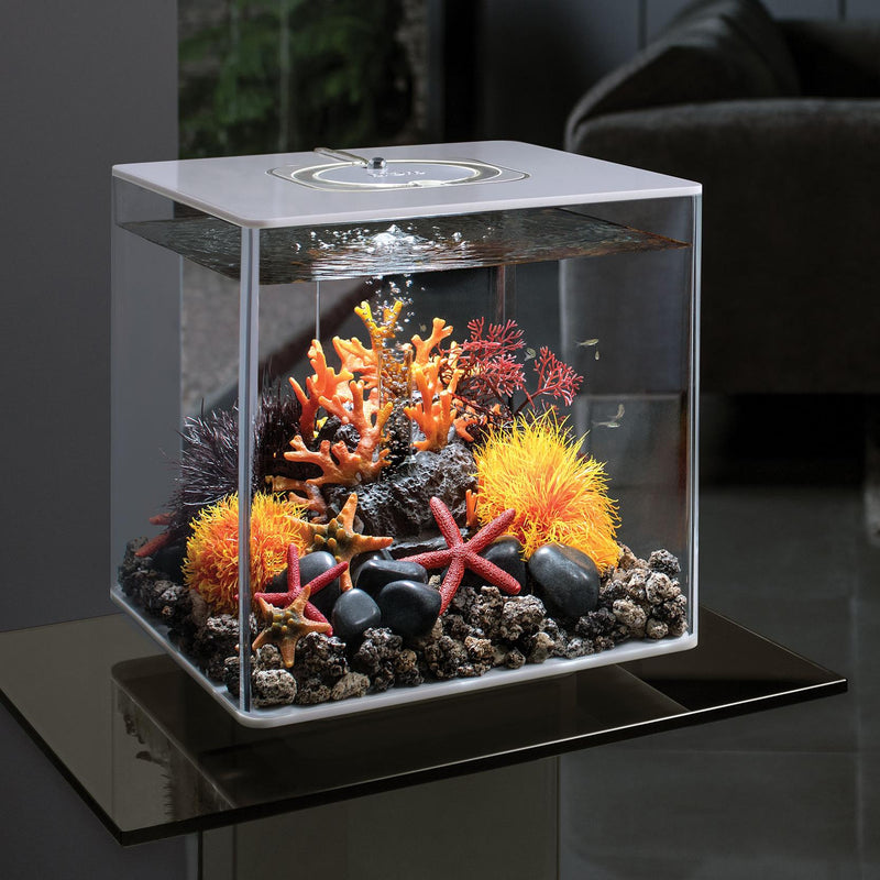 biOrb CUBE 30L White Aquarium with MCR LED Lighting