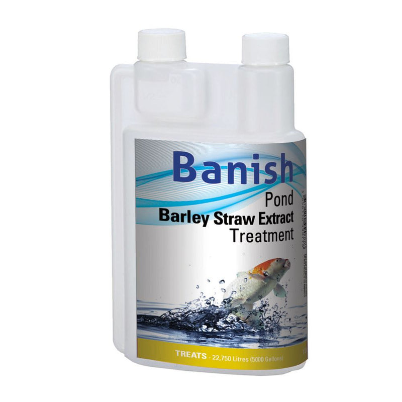 Banish Barley Straw Extract Pond Treatment