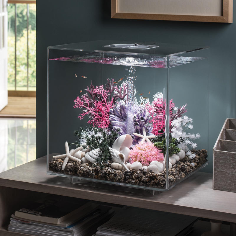biOrb CUBE 60L Clear Aquarium with MCR LED Lighting
