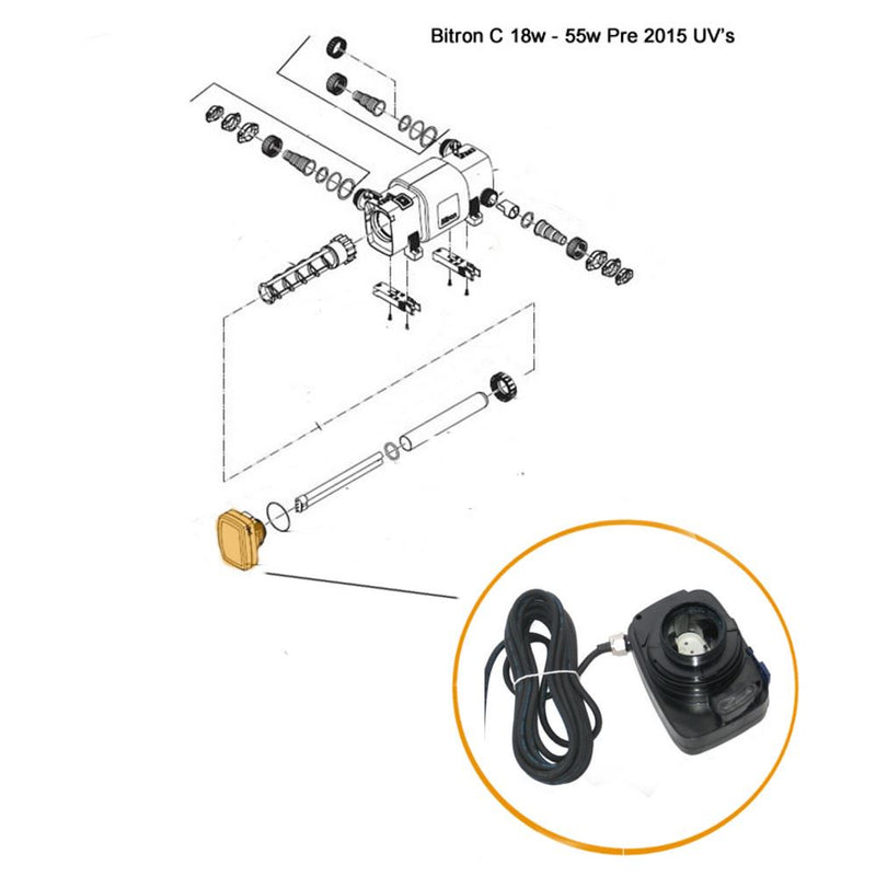 Oase - Part - 35116 Replacement Ballast Bitron C18