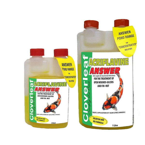 Cloverleaf Acriflavine Answer Pond Treatment