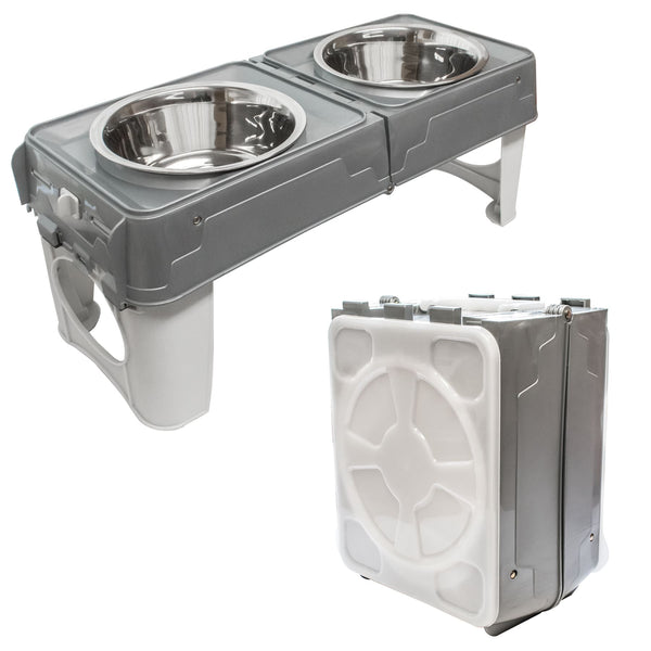 KCT Portable Pet Feeding Station