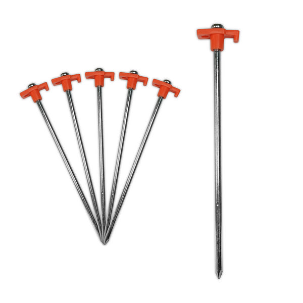 Heavy Duty Galvanised Steel Tent Peg