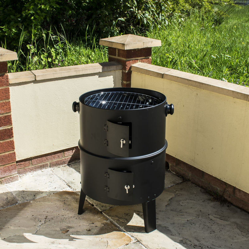 KCT Upright BBQ Smoker with Tool Set