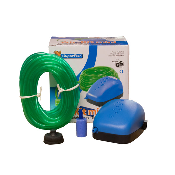 Superfish Air Kit Mini - Aquarium/Pond Air Pump