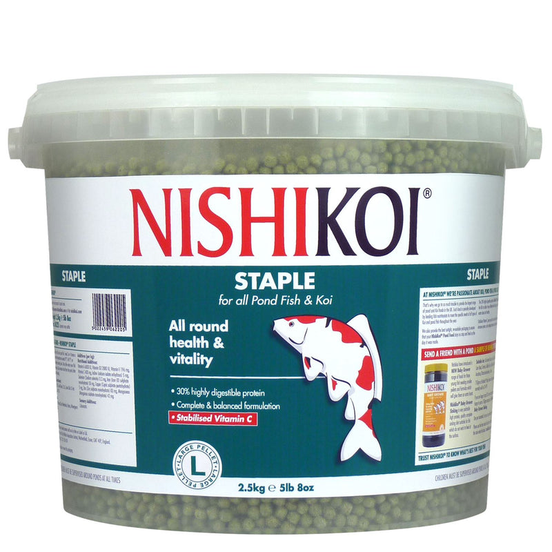 Nishikoi Staple Pond Fish Food