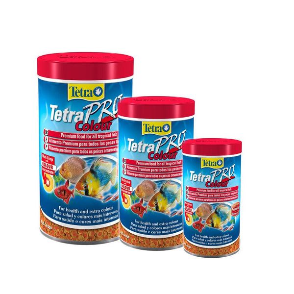 TetraPro Colour Tropical Aquarium Fish Food