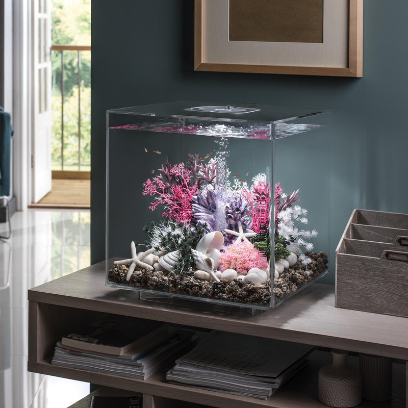 biOrb CUBE 30L Clear Aquarium with MCR LED Lighting