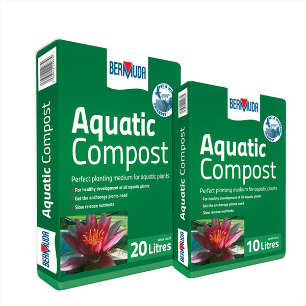 Bermuda Aquatic Pond Plant Compost