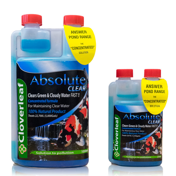 Cloverleaf Absolute Clear Pond Water Treatment