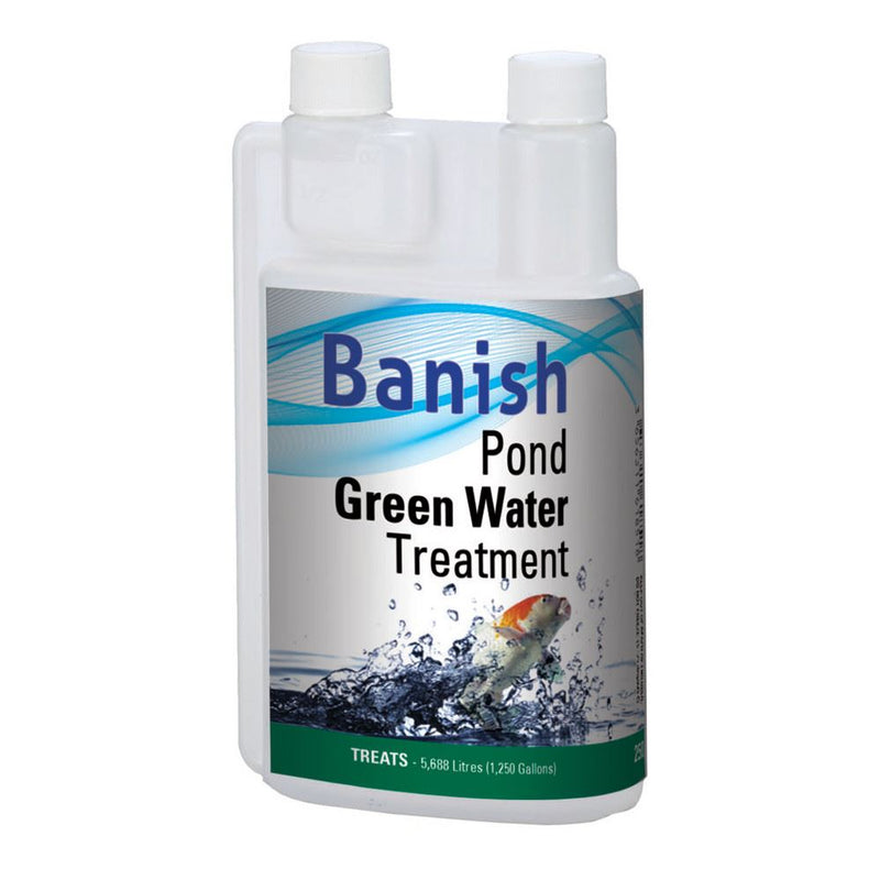 Banish Pond Green Water Treatment - Industrial Leisure