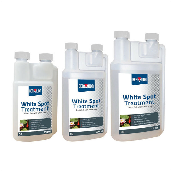 Bermuda White Spot Pond Water Treatment
