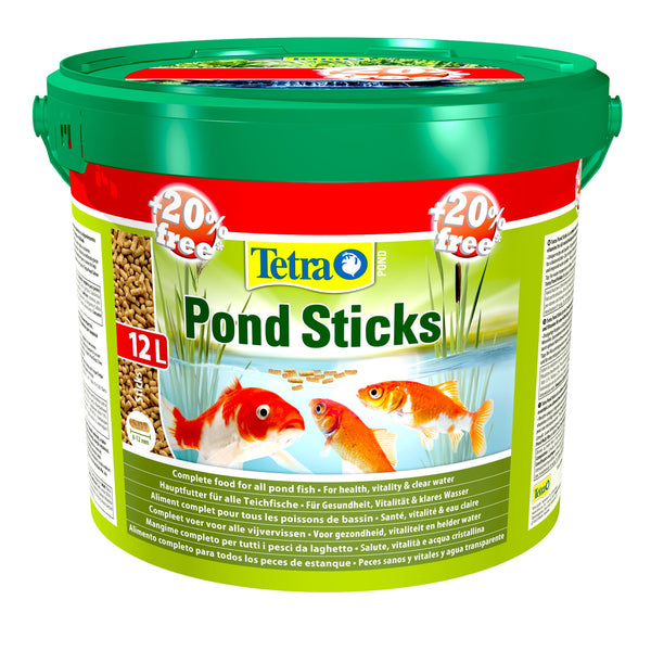 Tetra Floating Pond Sticks 10L + 20% Extra Free