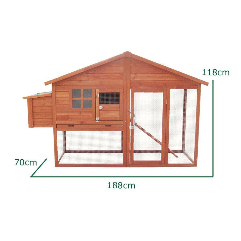 KCT Malaga Chicken Coop and Run
