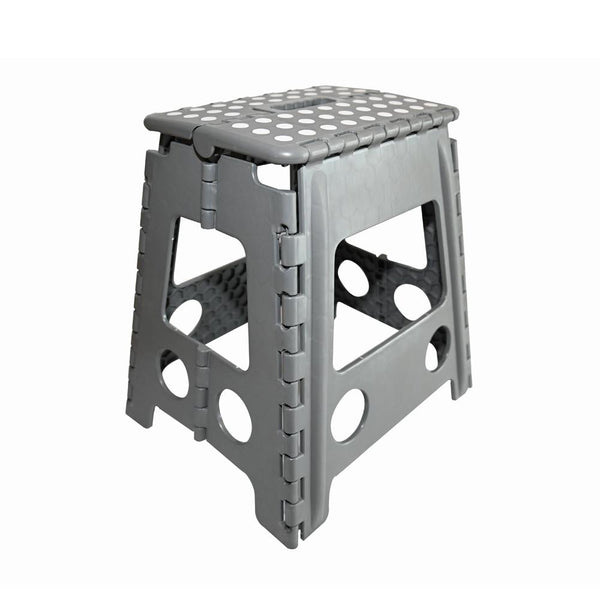 KCT Folding Multi Purpose Step Stool Grey