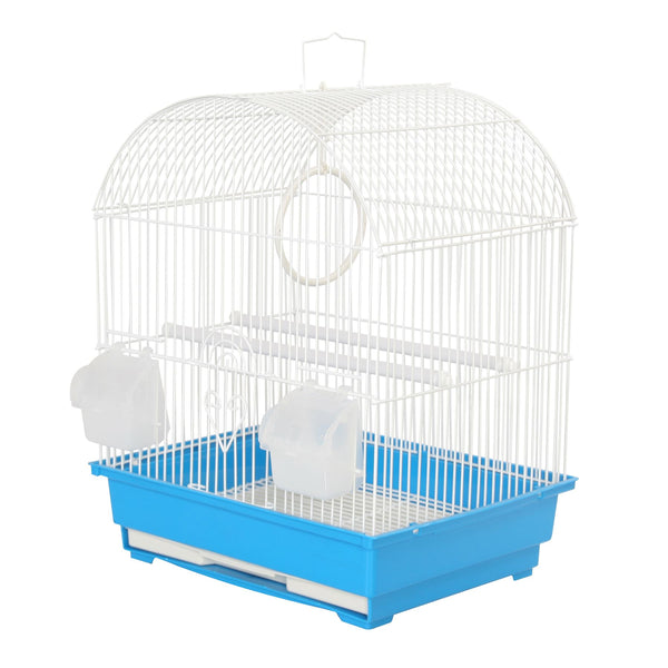 KCT Rosario Small Exotic Bird Travel Cage - Blue