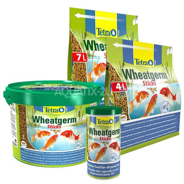 Tetra Wheatgerm Pond Sticks Fish Food