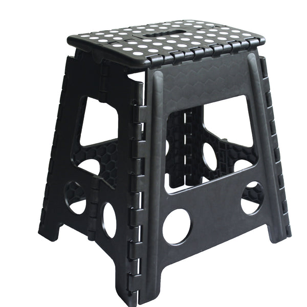 KCT Folding Multi Purpose Step Stool Black