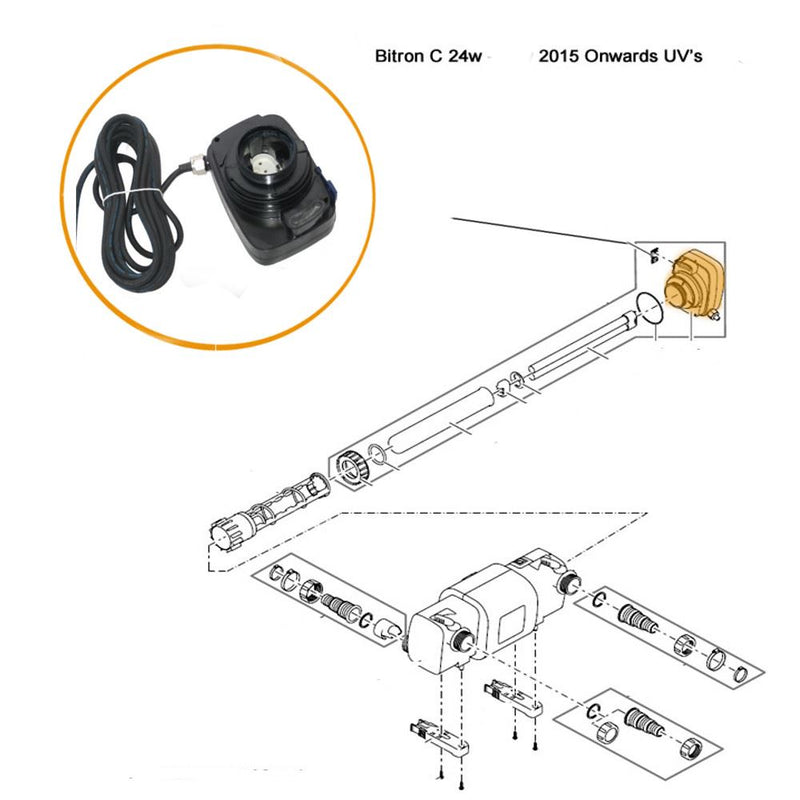 Oase - Part - 30951 Replacement Ballast for C24 Bitron