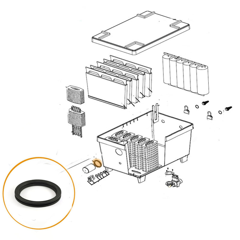 Oase - Part 34285 - Replacement Gasket Seal BioTec 30/ ScreenMatic 36