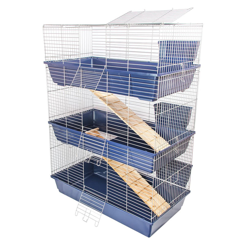 KCT Triple Level Indoor Pet Rabbit Cage or Hutch