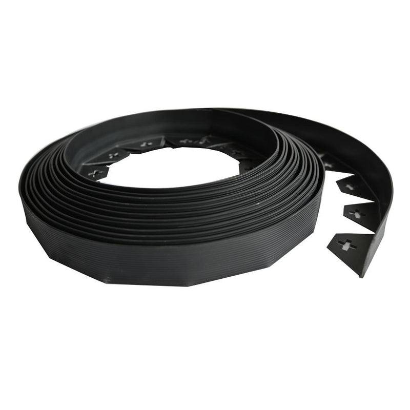 KCT 10 Metre Flexible Garden Lawn Edging with Pegs