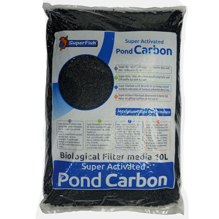 Superfish Pond and Aquarium Filter Carbon - 10 Litre