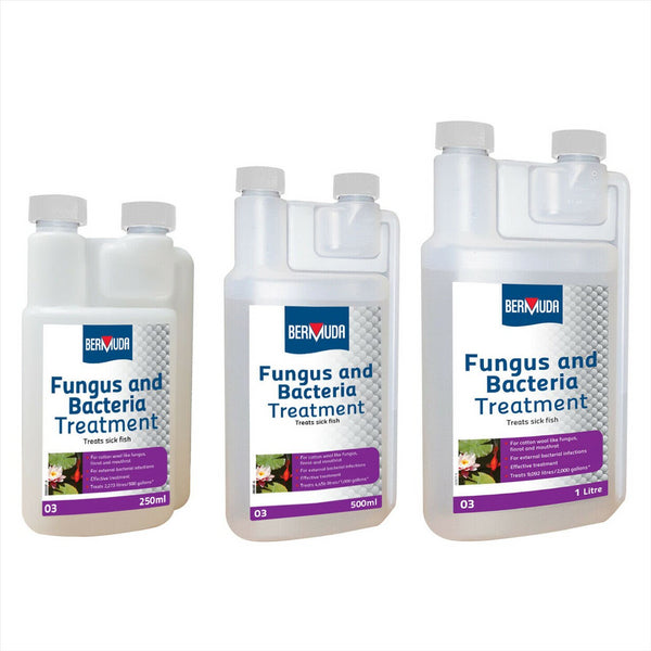 Bermuda Fungus and Bacteria Pond Water Treatment