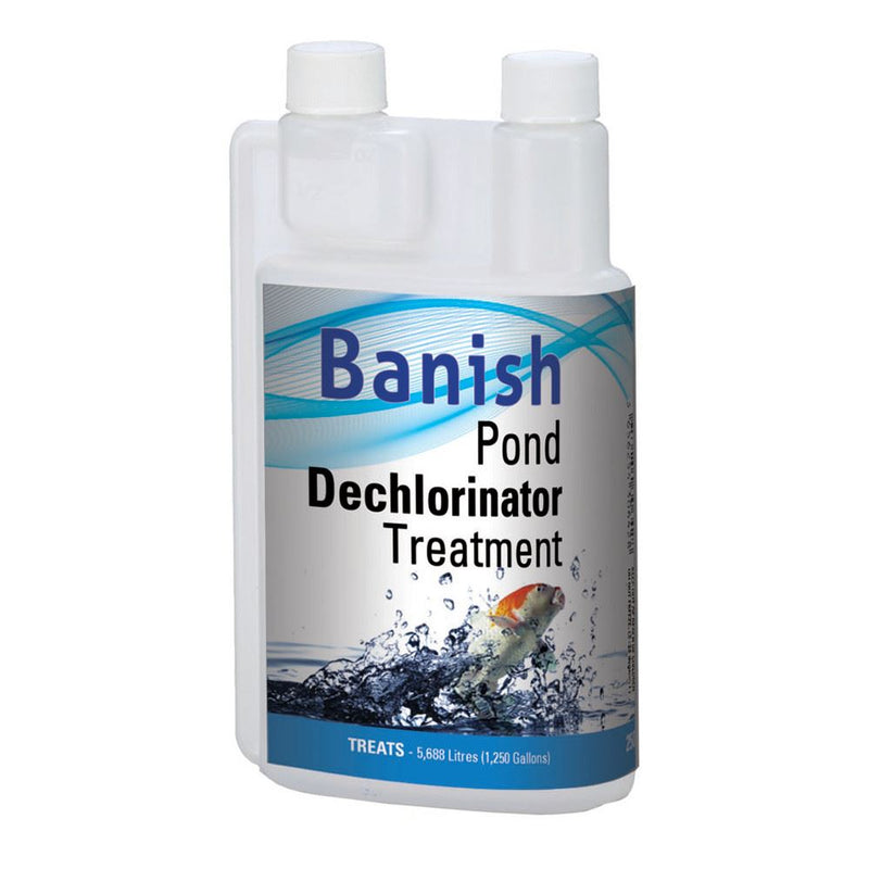 Banish Pond Dechlorinator Treatment - Industrial Leisure