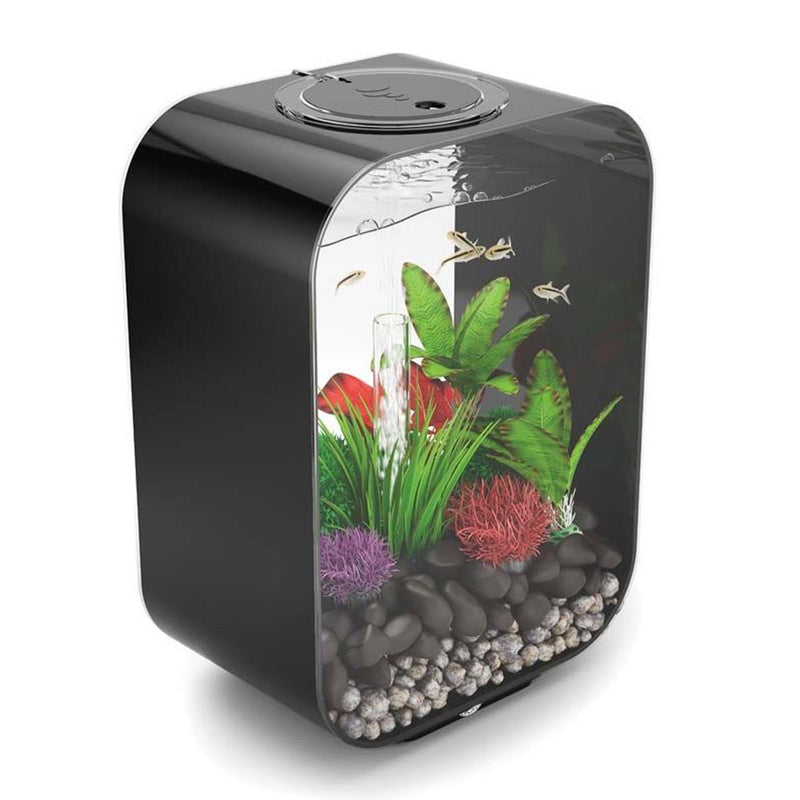 biOrb Life Black Aquarium 15L - Standard Light