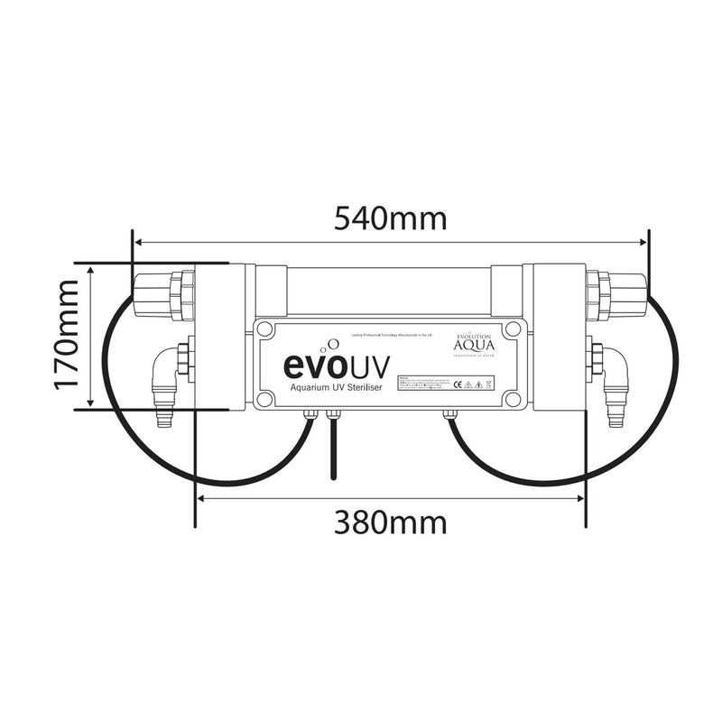 Evolution Aqua Aquarium evoUV S range Ultraviolet Sterilisers