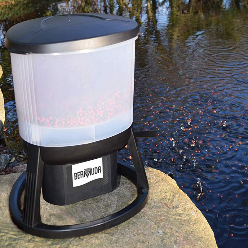 Bermuda Automatic Mains Powered Pond Fish Feeder