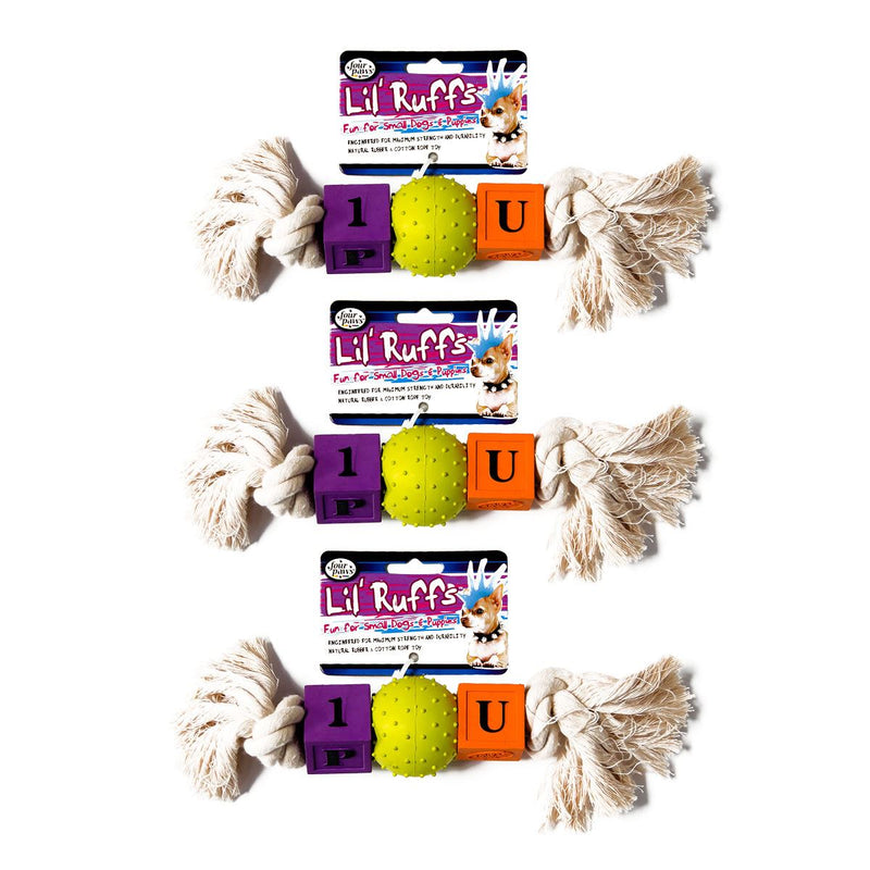 Four Paws Lil Ruff Dog Toys