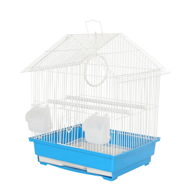KCT Lima Small Exotic Bird Travel Cage - Blue