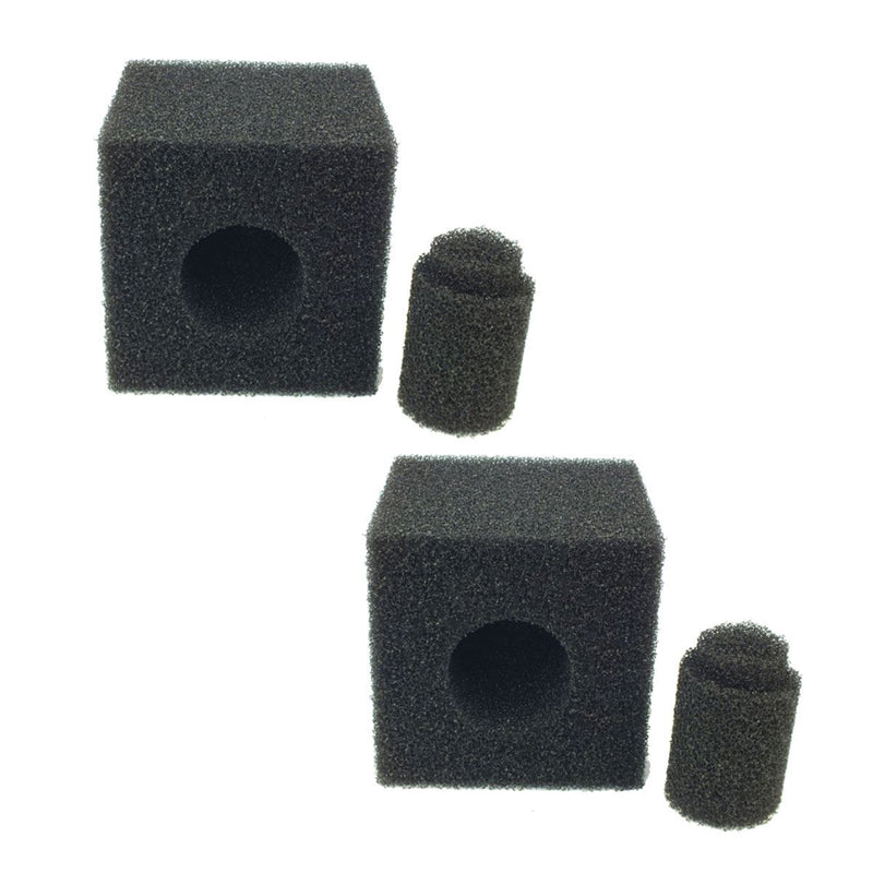 "Pre Filter Foam - 8"" x 8"" x 8"" Cube Twin Pack"