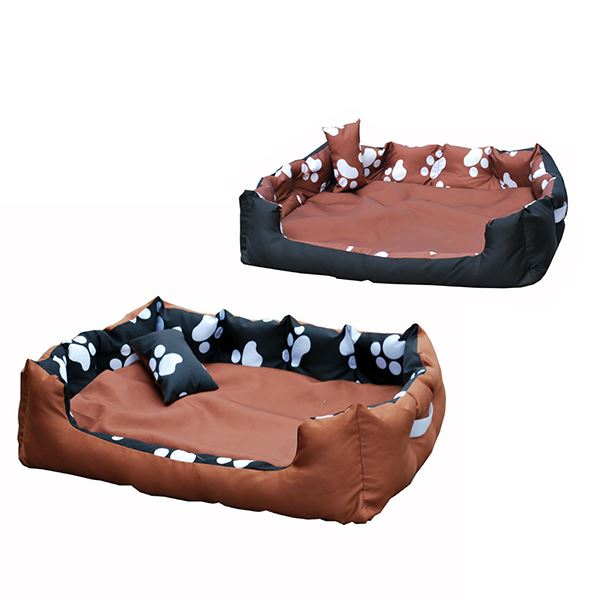 KCT Soft Paw Print Pet Beds