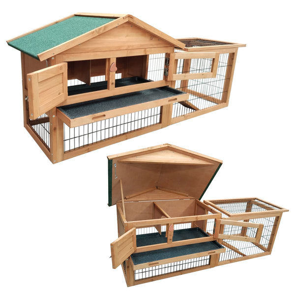 KCT Verona Rabbit Hutch and Run
