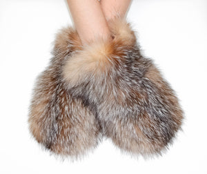 Crystal Fox mittens